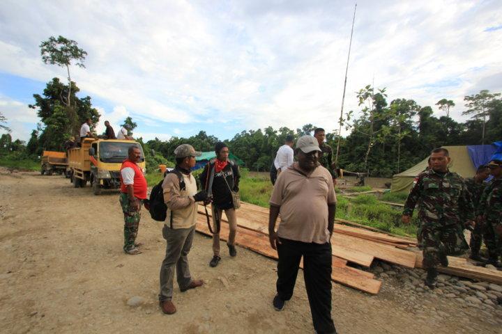 Kunjungan Kerja Bupati ke Mumugu Batas Batu