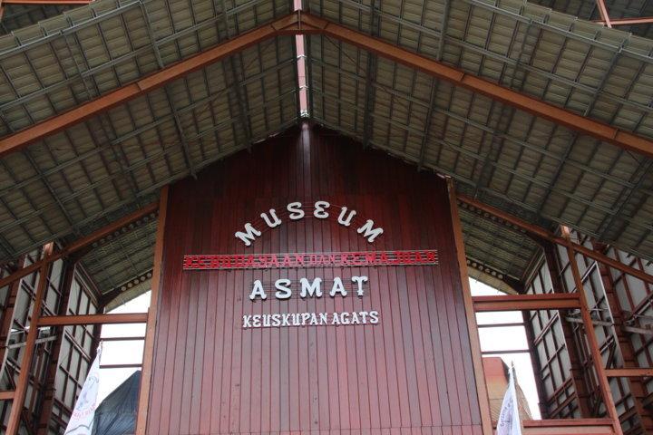 Pesermian Museum Baru Kabupaten Asmat