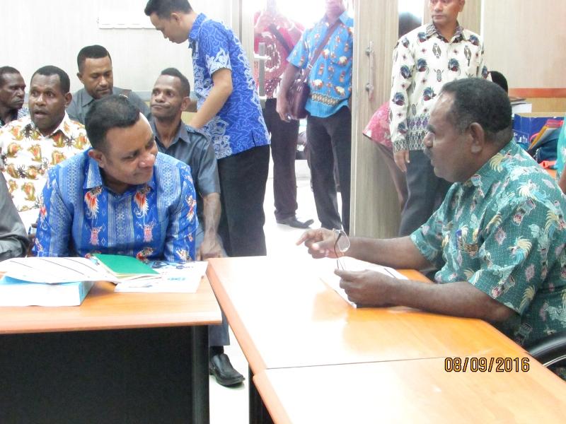 Bapak Bupati dan Wakil Bupati Kabupaten Asmat