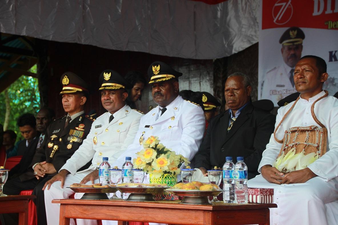 Bapak Bupati dan Wakil Bupati Kabupaten Asmat Beserta Pimpinan Daerah Lainnya