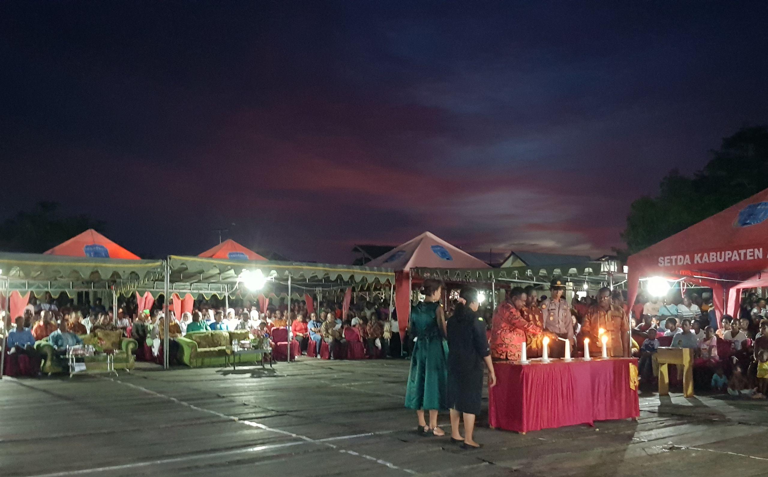 NATAL BERSAMA PEMDA, TNI, POLRI dan MASYARAKAT se-Kabupaten Asmat
