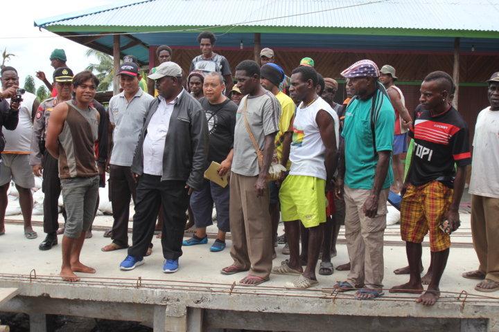 Kunjungan Kerja Wakil Bupati ke Distrik Payit