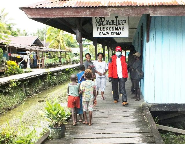 Kunjungan Kerja Wakil Bupati ke Sawa Erma