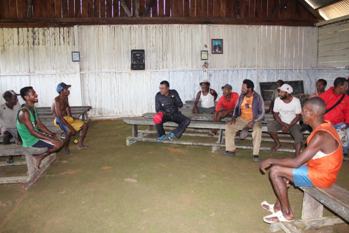 Kunjungan Kerja Wakil Bupati ke Distrik Ayip