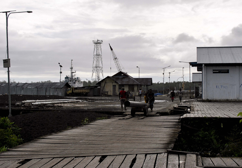 Pembangunan Infrastruktur Pelabuhan