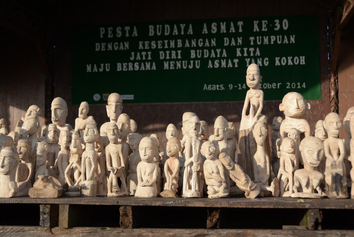 Pelaksanaan Pesta Budaya Asmat ke 30