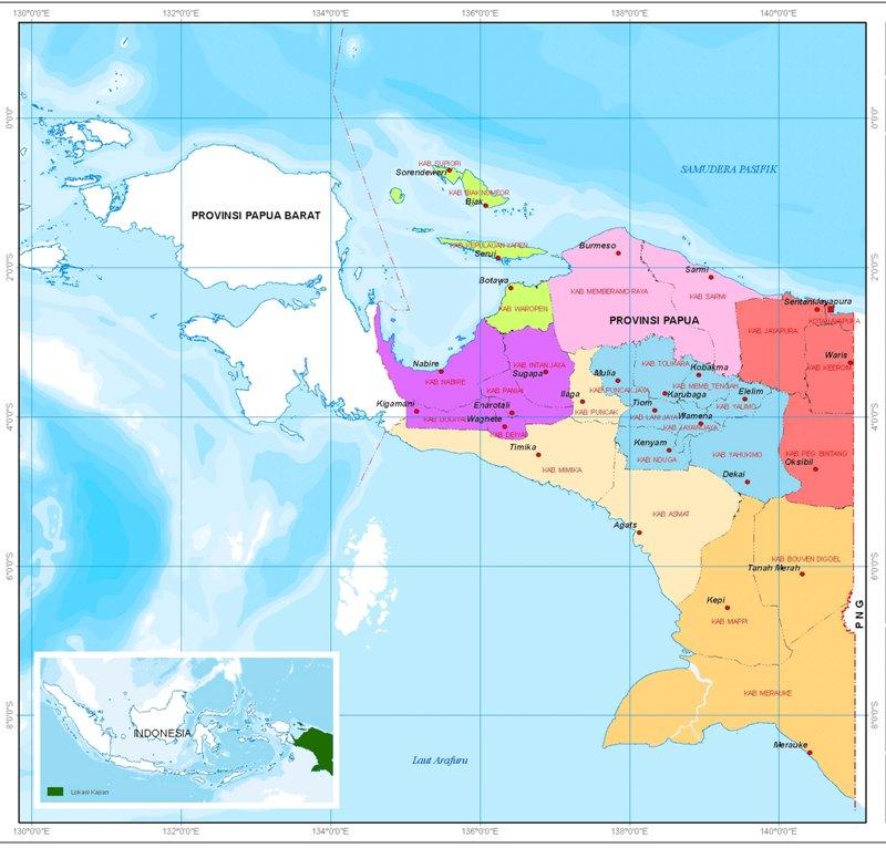 System Perwilayahan Papua